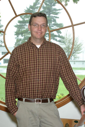 Kyle Sircely, inside sales pro with Preston Feather Building Centers, Gaylord Michigan